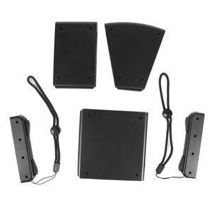 Image 5 - موصل حزمة اليسار واليمين حامل علبة 1 مجموعة 5 في 1 ABS مقبض قوس غطاء ل نينتندو سويتش Ns الفرح كون تحكم