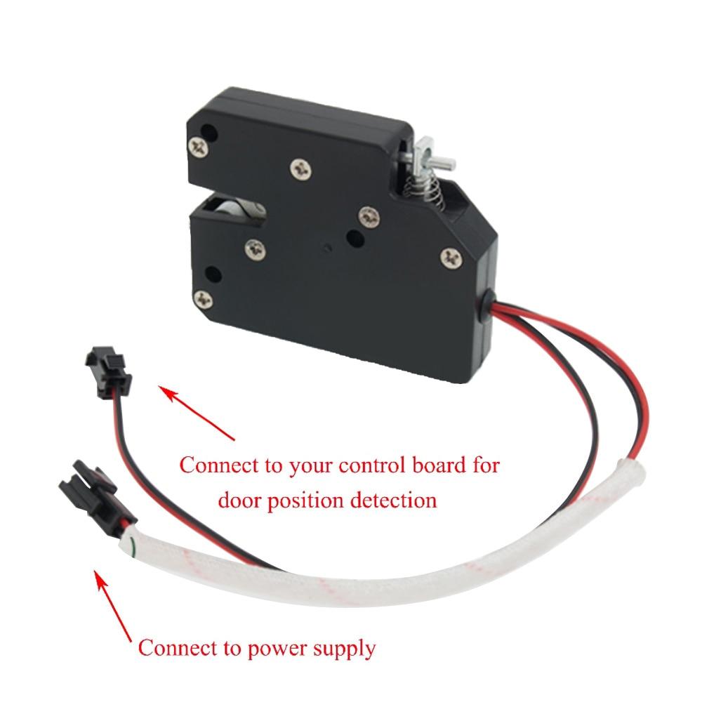 DC 12V Mini Electrical Lock Smart Cabinet Lock Cupboard Case Anti-Theft Lock
