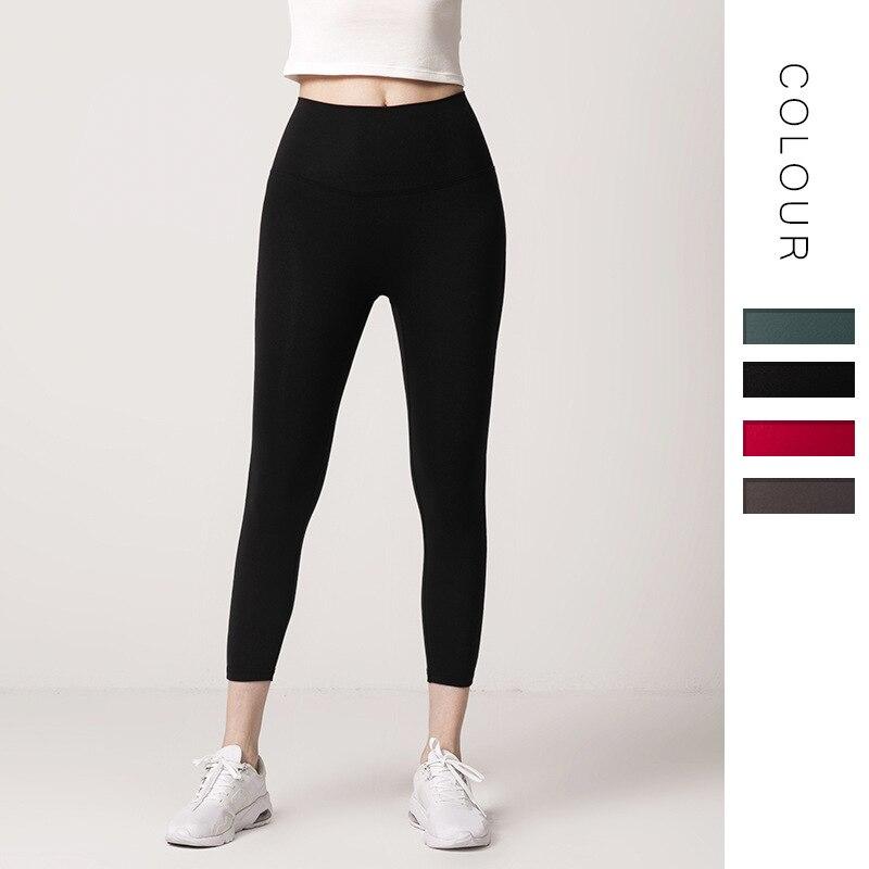 3 4 Kebugaran Legging Wanita Yoga Celana Olahraga Legging Olahraga Lari Wanita Celana Ketat Olahraga Kebugaran Gym Pinggang Tinggi Celana Yoga Yoga Pants Aliexpress