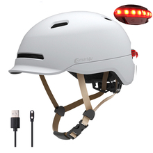 Inteligentna żarówka kask rowerowy rower Ultralight kask elektryczny kask rowerowy górska droga rowerowa MTB kask rower lampka na kask tanie tanio (Dorośli) mężczyzn CN (pochodzenie) 370g 8 SH50L Electric scooter Cycling Balance car Adults and kids M L 22 44-24 02 inch