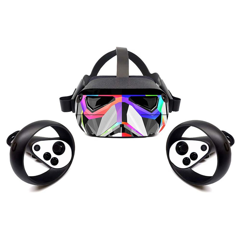 Vinyl Skin Sticker For Oculus Quest,Protective, Durable, And Unique Decal Wrap Cover | Easy To Apply, Remove, And Change Styles