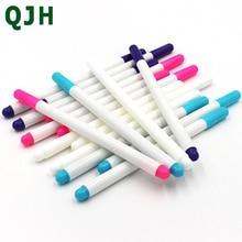 4 Uds. Solubles de punto de cruz de rotuladores, rotuladores lavables con agua, tinta de ojal, marcadores de tela, herramientas de costura