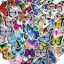 50 шт красочными бабочками и бантиками; Скрапбукинг наклейки