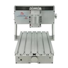 Mini machine de bricolage CNC CNC 3020, perceuse et fraiseuse à cadres, pour passe temps, broche 65mm sans moteur