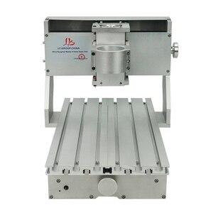 Image 1 - 미니 diy cnc 기계 cnc 3020 프레임 드릴링 및 밀링 머신 취미 목적 65mm 스핀들 모터없이