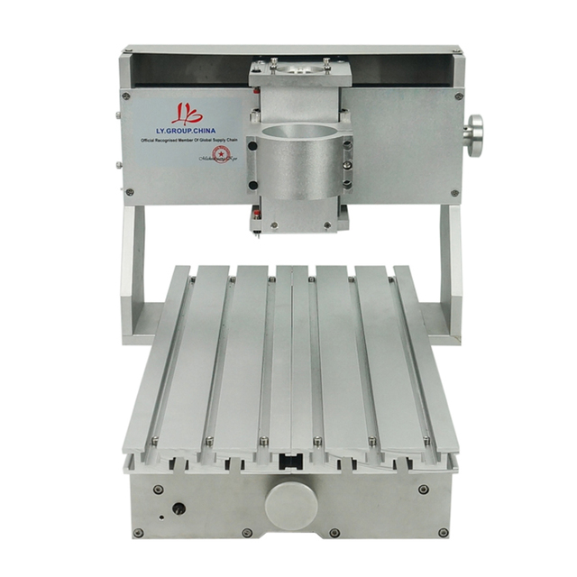 미니 diy cnc 기계 cnc 3020 프레임 드릴링 및 밀링 머신 취미 목적 65mm 스핀들 모터없이