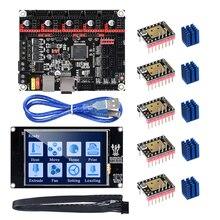 Материнская плата BIGTREETECH SKR V1.3 32 бит с сенсорным экраном TFT3.5 V2.0 TMC2208 TMC2130 для 3d принтера A8 Ender