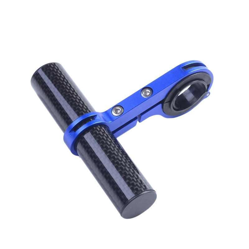 10CM vélo guidon Support étendu phare montage barre Support de téléphone vélo lampe lampe de poche Support Extender Fiber de carbone