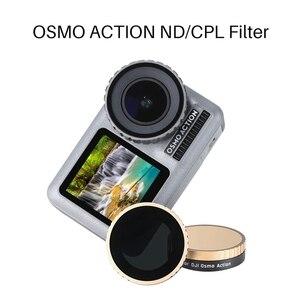Image 5 - ホット Ulanzi CPL ND フィルター dji Osmo アクション ND8 ND16 ND32 ND64 光学ガラスアクションカメラレンズフィルター osmo ためアクション