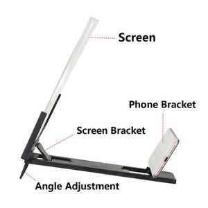Image 5 - 14 Inch High Definition Folding Screen Amplifier Phone Magnifier Stand Holder
