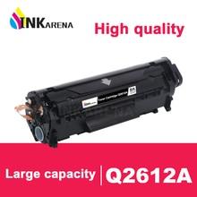 INKARENA Compatible Q2612A q2612 2612a 12a 2612 Toner Cartridge For HP LaserJet LJ 1010 1020 1015 1012 3015 3020 3030 3050 Black