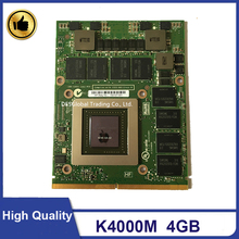 Video-Graphics-Card K4000 8740W M6800 Laptop GDDR5 Quadro 4GB for Dell HP 8740w/8760w/8770w/..
