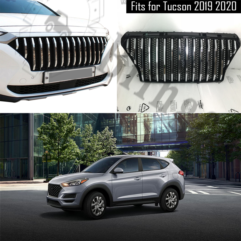 HYUNDAI TUCSON 2004-2010 NEW FRONT LOWER BUMPER CENTER GRILL GRILLE
