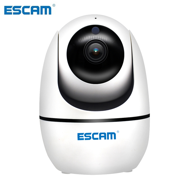 ESCAM PVR008 H.265 אוטומטי מעקב PTZ פאן/טייל מצלמה 2MP HD 1080P אלחוטי ראיית לילה Ip מצלמה
