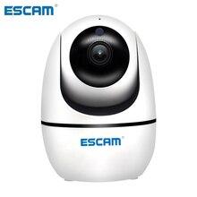 ESCAM PVR008 H.265การติดตามอัตโนมัติPTZ Pan/กระเบื้องกล้อง2MP HD 1080P Night Visionไร้สายIPกล้อง