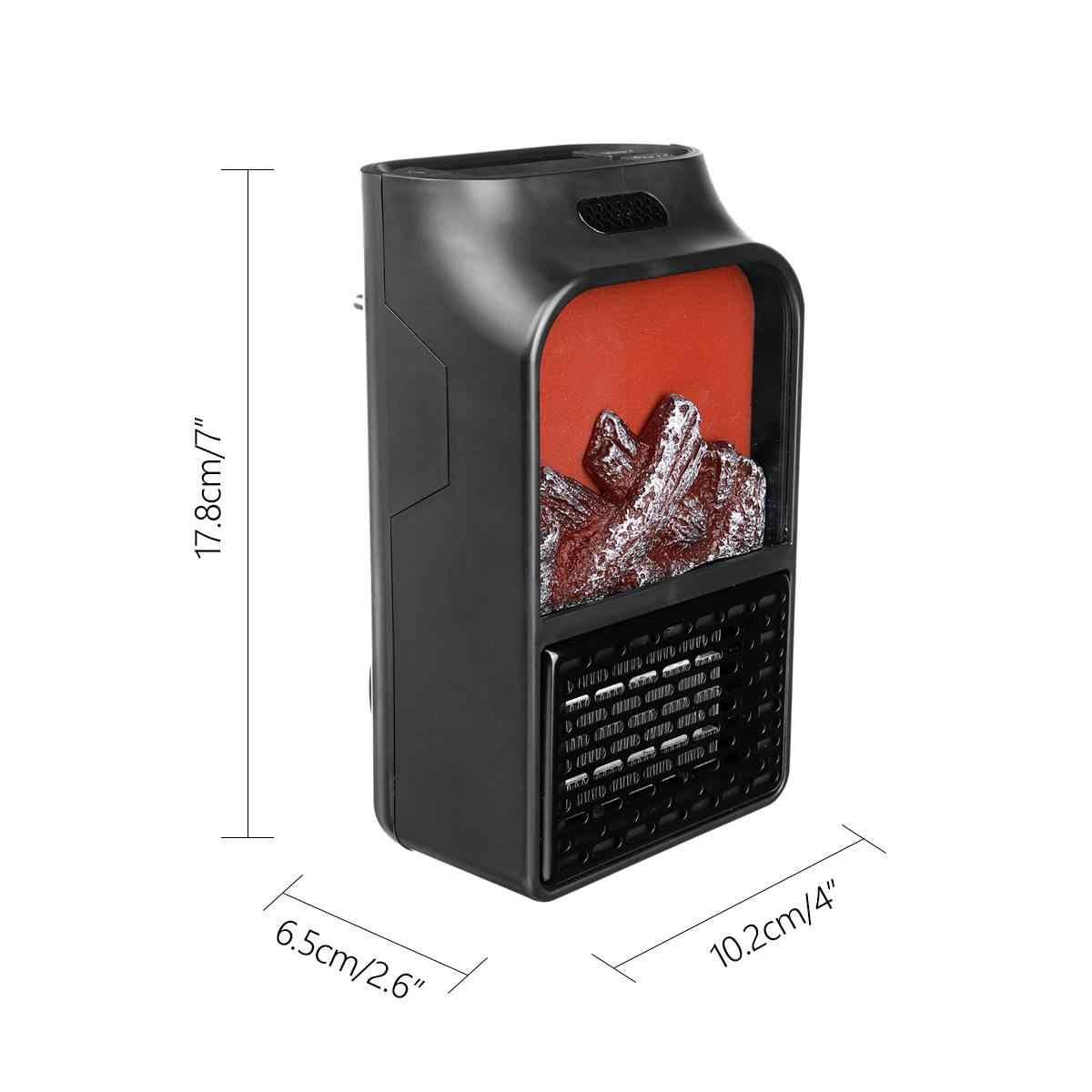 الاتحاد الأوروبي التوصيل 900w الكهربائية سخان البسيطة المحمولة الشخصية الفضاء دفئا مع RC للداخلية التدفئة التخييم قابل للتعديل ترموستات