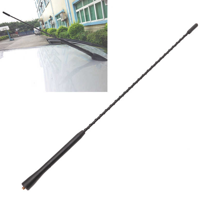 "New 16"" Mast Whip Car Auto Radio Antenna For BMW Z 3 4 For Mazda 5 6 For Toyota VW Jetta Drop shipping"