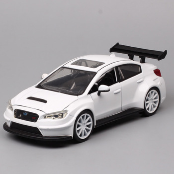 kids 1/24 scales The Subaru WRX STI Impreza car F8 SUV metal Diecasts & Toy Vehicles auto model car racing gift hobby thumbnails image