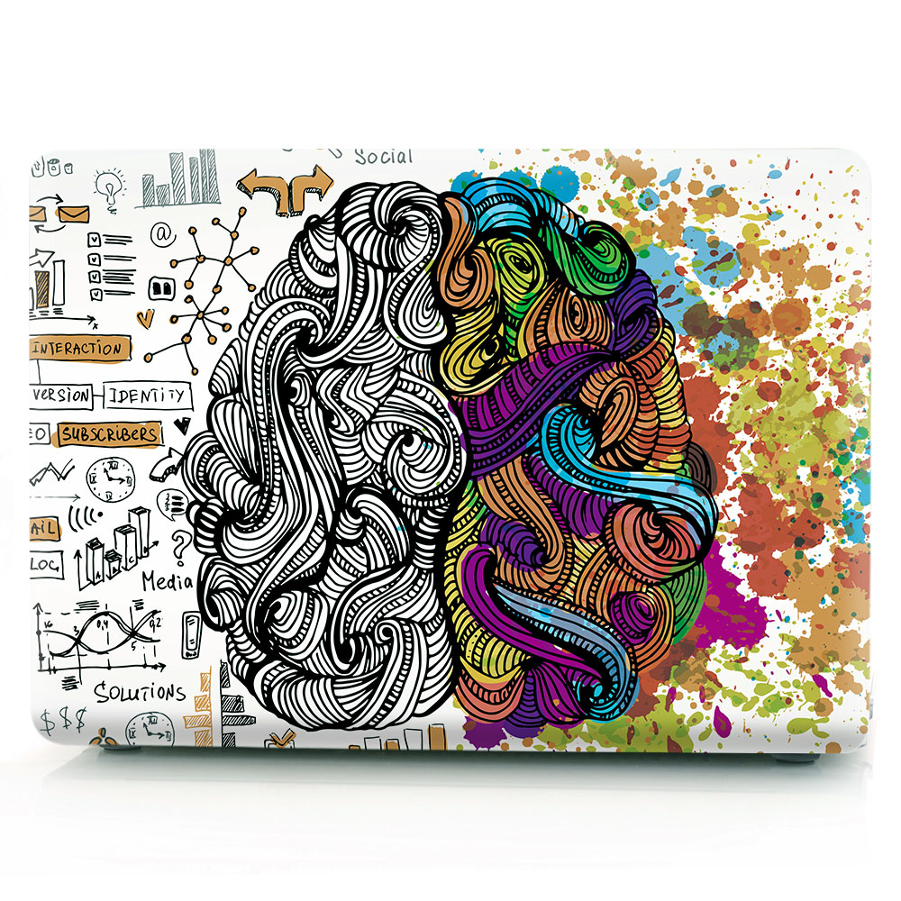Brain Painting Case for MacBook 131