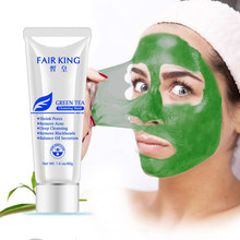 Green Tea Mud Nose Blackhead Remover Mask Deep Cleansing Pore Cleansing Cleaner Acne Treatment Balance Oil Secretion(China)