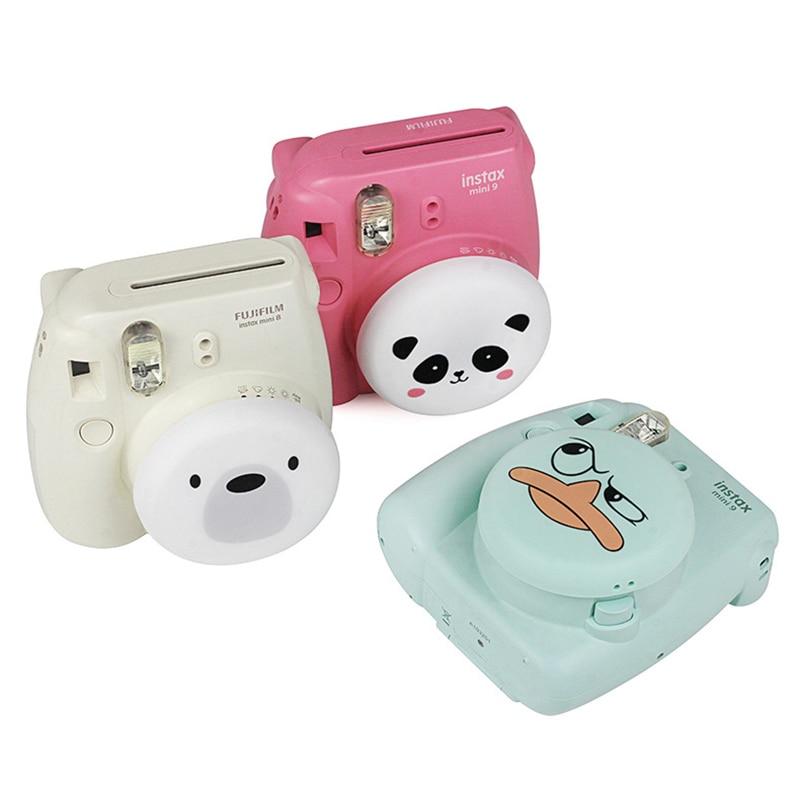 Adorable Camera Lens Case Cover Silicone Len Protector Shell Accessories For Fuji Fujifilm Instax Mini 9 Mini 8 Instant Camera