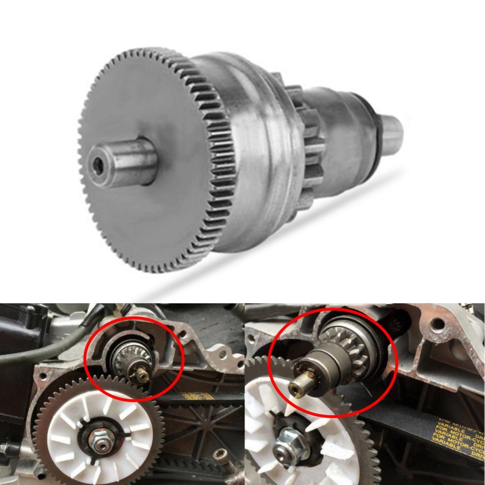Motor de engrenagem de motor de embreagem, para bendix gy6 49cc 50cc 60cc 139qmb 139qma scooter moped atv go-dim