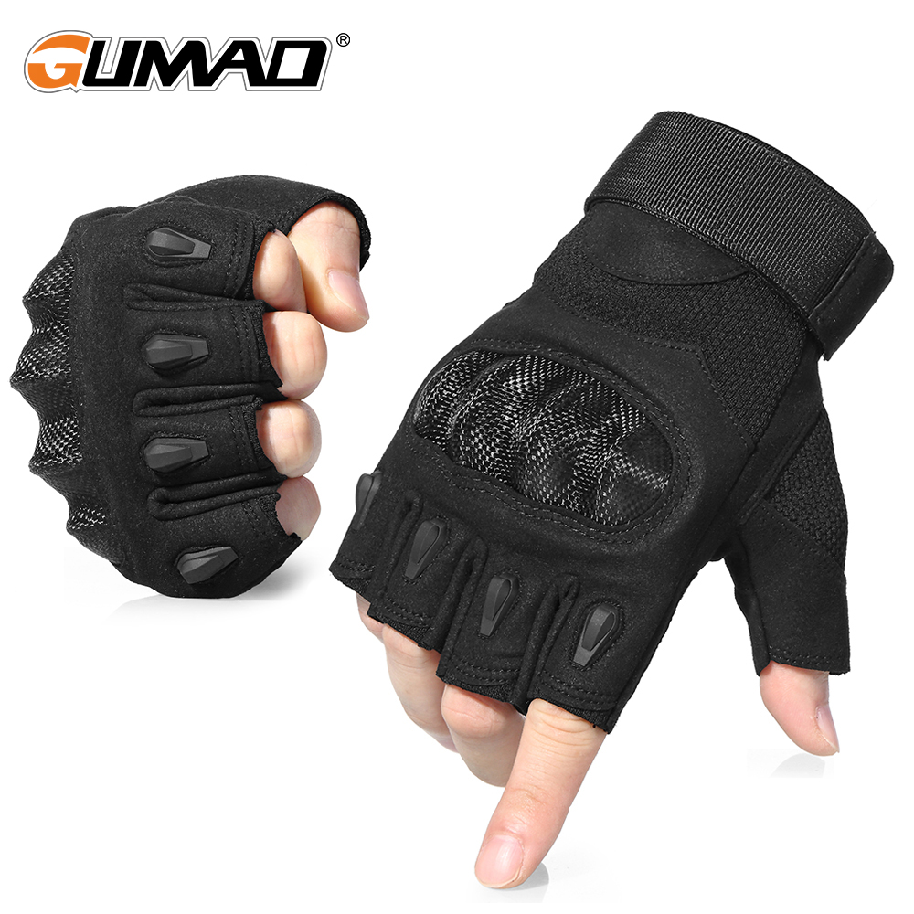 Outdoor Sport Tactical Fingerless Gloves Military Army Shooting Hiking Hunting Climbing Cycling Riding Airsoft Half Finger Glove