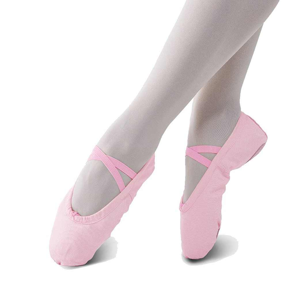 Pantufa feminina, sapatilhas para balé para mulheres danseuse canvans profissional