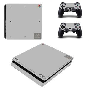 Image 5 - 20 주년 기념 에디션 PS4 슬림 게임 커버 PS4 슬림 스킨 스티커 PS4 슬림 플레이 스테이션 4 및 2 컨트롤러 스킨 데칼