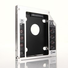 2nd HDD SSD Hard Drive Optical bay Caddy Frame Adapter for Acer Aspire 5940 5942 5942G 5943G 5930(China)