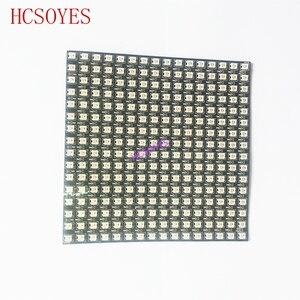 Image 5 - Цифровая Гибкая Светодиодная панель WS2812B, индивидуальное управление, полный цвет мечты, 16x16, 8x32, 8x8 пикселей, 5 в постоянного тока