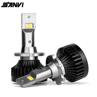 SANVI New Arrival D1S LED Bulb D3S D2R D2S D4S D5S D8S Car LED Headlight 35W 6000k Auto LED lamp with Canbus function Plug &Play