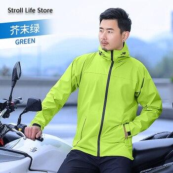 Waterproof Raincoat Rain Pants Suit Rain Coat Motorcycle Poncho Mens Sports Suits Motorcycle Pants Impermeable Birthday Gift