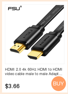 Hf8dc607f1ea2421b999fa199d94e6076M 1.4 Version Gold Plated Micro HDMI to HDMI Cable 3D 1080P Male-Male for Phone Tablet  HDTV PS3 XBOX Camera GoPro 1m 1.5m 3m 5m
