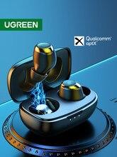 UGREEN HiTune TWS kulaklıklar kablosuz Bluetooth kulaklık aptX Qualcomm çip ile gerçek kablosuz Stereo kulaklık kulaklık kulaklık