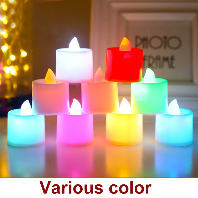 5pcs Electronic Candle Light Wedding,Birthday Party Supplies Candle Lights Luminous Toys Novelty & Gag Toys
