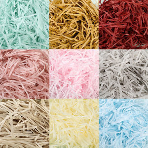 10g per bag DIY Paper Raffia Shredded Paper Christmas Decoration Confetti Gift Box Filling Material Wedding Marriage Decor 62456