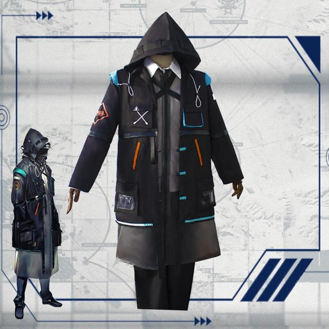2019 New Game Arknights Doctor Ph. D. Cosplay Costume Halloween Outfit Set RHODES ISLAND