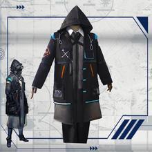 2019新ゲームarknightsドクターph. D。コスプレ衣装ハロウィン衣装セットロードス島