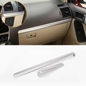 Lsrtw2017 for Toyota Land Cruiser Prado J150 150 Car Dashboard Trims Interior Chrome Accessories 2018