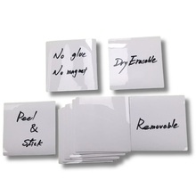 Dry Wipe Sticky Notes Pad, Removable Reusable Labels Sticker for Storage Bins  Dropship