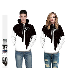 2019 New Hooded Sweatshirt Men/Women Hoodies Painting 3D Digital printing fashion pullover Loose lovers
