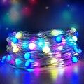 Tuya WI-FI гирлянды светодиодные светильник s Фея Светильник Красочные RGB Водонепроницаемый музыкальной синхронизации Дистанционное Управлени...