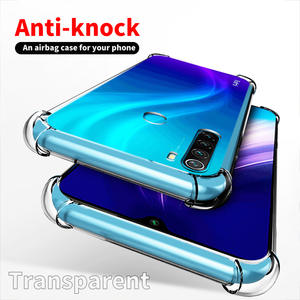 Phone-Case Xiaomi Redmi Airbag-Ani-Knock-Cover Note7 Full-Protection for Note8-Pro/tpu