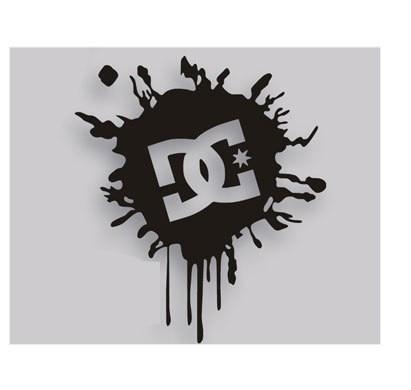 Автомобильная наклейка Кен Блок DC чернила логотип Автомобили Мотоциклы внешние аксессуары виниловая наклейка, 15 см * 12 см