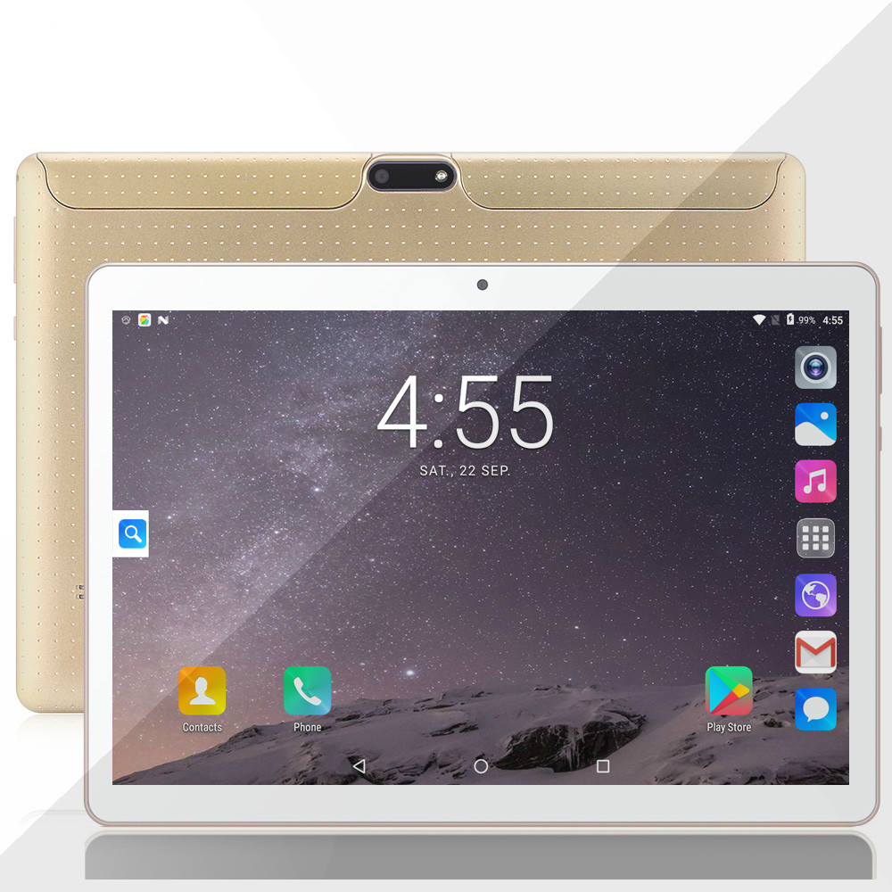 2020 New 10 Inch Tablet Pc 4G Phone Duall Call SIM Card Android 9.0 Ten Core 4G WiFi GPS FM Tablet Google Play 6G+128GB Tablet