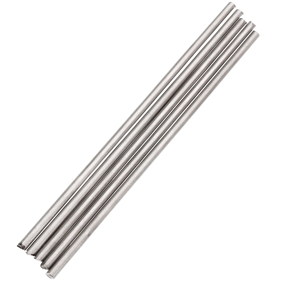 5Pcs 4x250mm Silver Titanium Rod Welding Rod Metal Soldering Brazing Wire Solder TIG Filler Rods With Corrosion Resistance