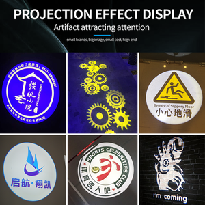 Image 5 - Outdoor Waterproof LED Customized Image Sign Rotate Remote Projection Lamp Custom Advertising Logo Projector Light