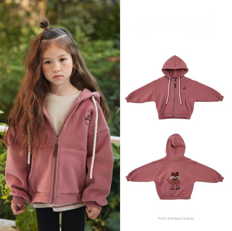 2020 New Winter LD Brand Kids Sweaters for Boys Girls Coat Fashion Print Warm Sweatshirts Baby Children Cotton Outwear Clothes 1