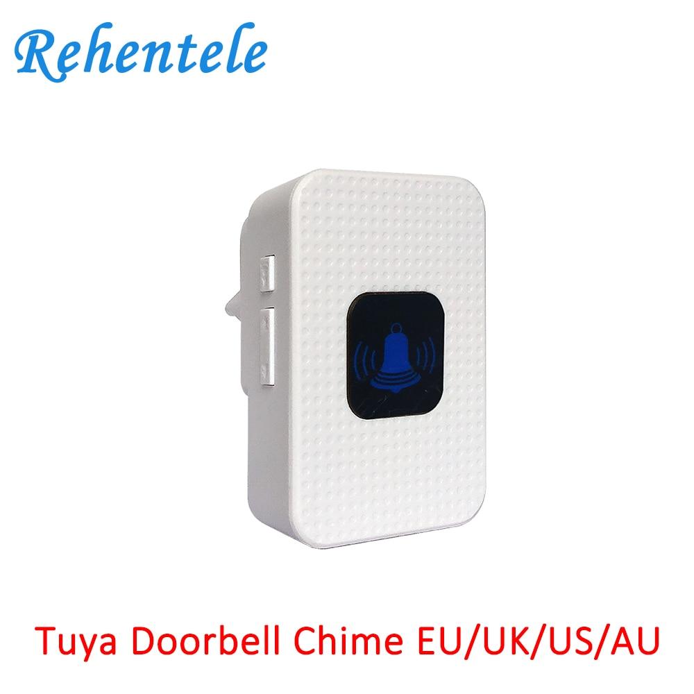 EU UK US AU Indoor Chime Works With Tuya Smart Video Doorbell